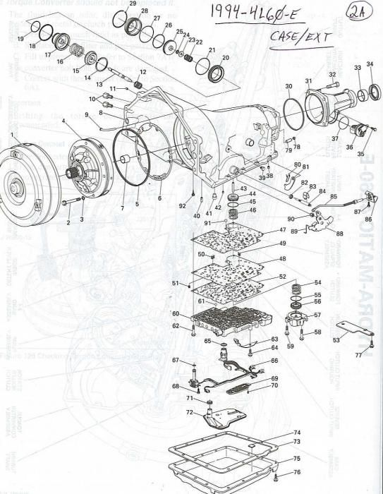1999 4l60e Transmission Diagram Electrical Wiring Diagrams