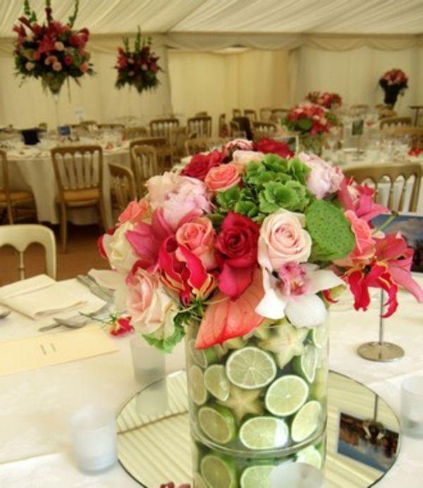 29 Elegant Ideen Hochzeitsdekoration Tisch Deko