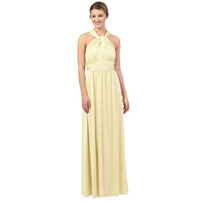 united kingdom buy good meet Debut Pale yellow multiway evening dress- | Debenhams ...