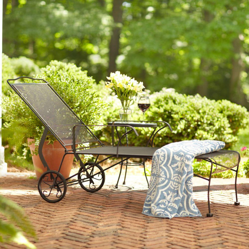 Hampton Bay Jackson Patio Chaise Lounge Products