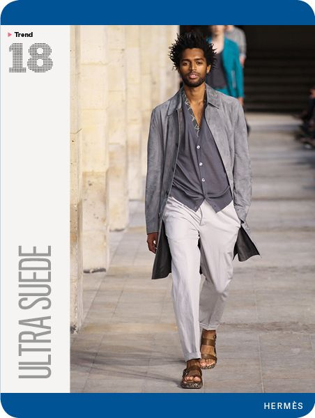 GQ's Spring Trend Report 2014: Ultra Suede