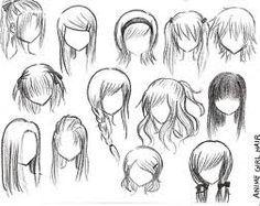 Dibujos De Peinados De Mujeres Buscar Con Google Dibujo