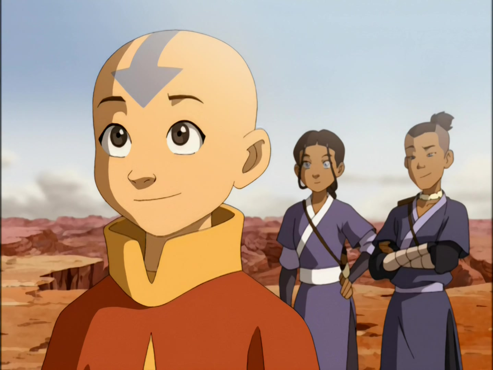 Anime Screencap And Image For Avatar The Last Airbender Book 1 Fancaps Net Avatar Aang Avatar The Last Airbender