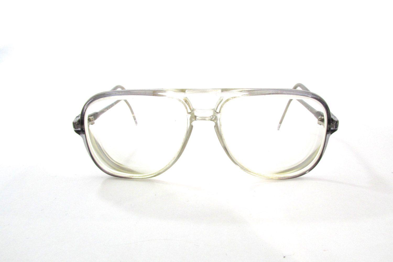 96f0e17cda5f Square Vintage Eyeglasses - Hipster Eyeglasses - Vintage Eyewear - Grey  Vintage Glasses - Clear Eyeglasses. UVLAIK Vintage Cat Eye ...
