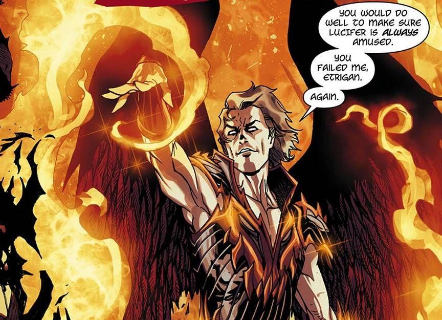 Comic Vine | Lucifer, Lucifer morningstar, Comics