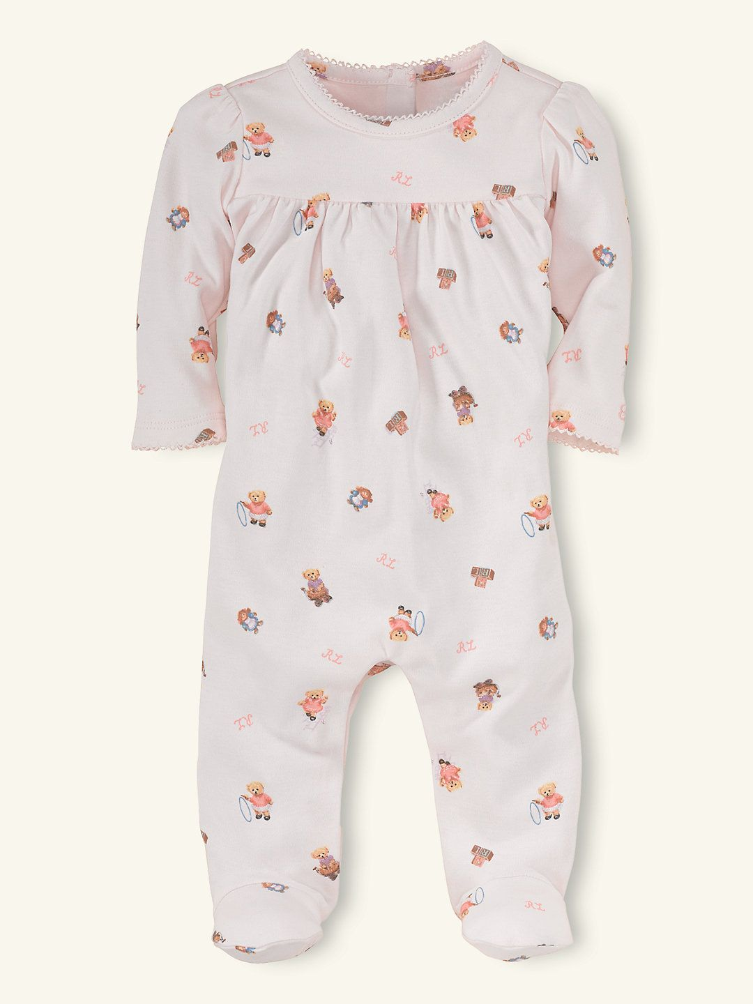 4ddecde7 Playtime Bear Coverall - One-Pieces Layette Girl (Newborn–9M ...