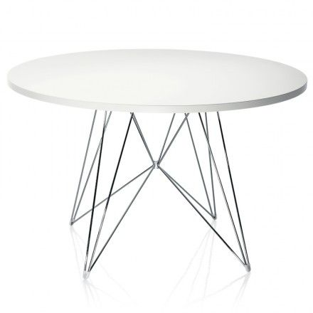 Folding Circle Dining Table Google Search Furniture Pinterest Round Chrome And Sitting Rooms