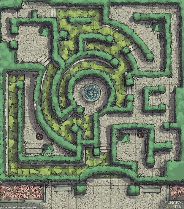 Dungeon Mapster Is Creating Maps For Pathfinder Tabletop Games And Dungeons And Dragons Patreon Dungeon Maps Fantasy Map Fantasy City Map