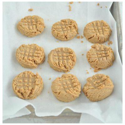 3 Ingredient Peanut Butter Cookies Vegan Food Recipes Vegan