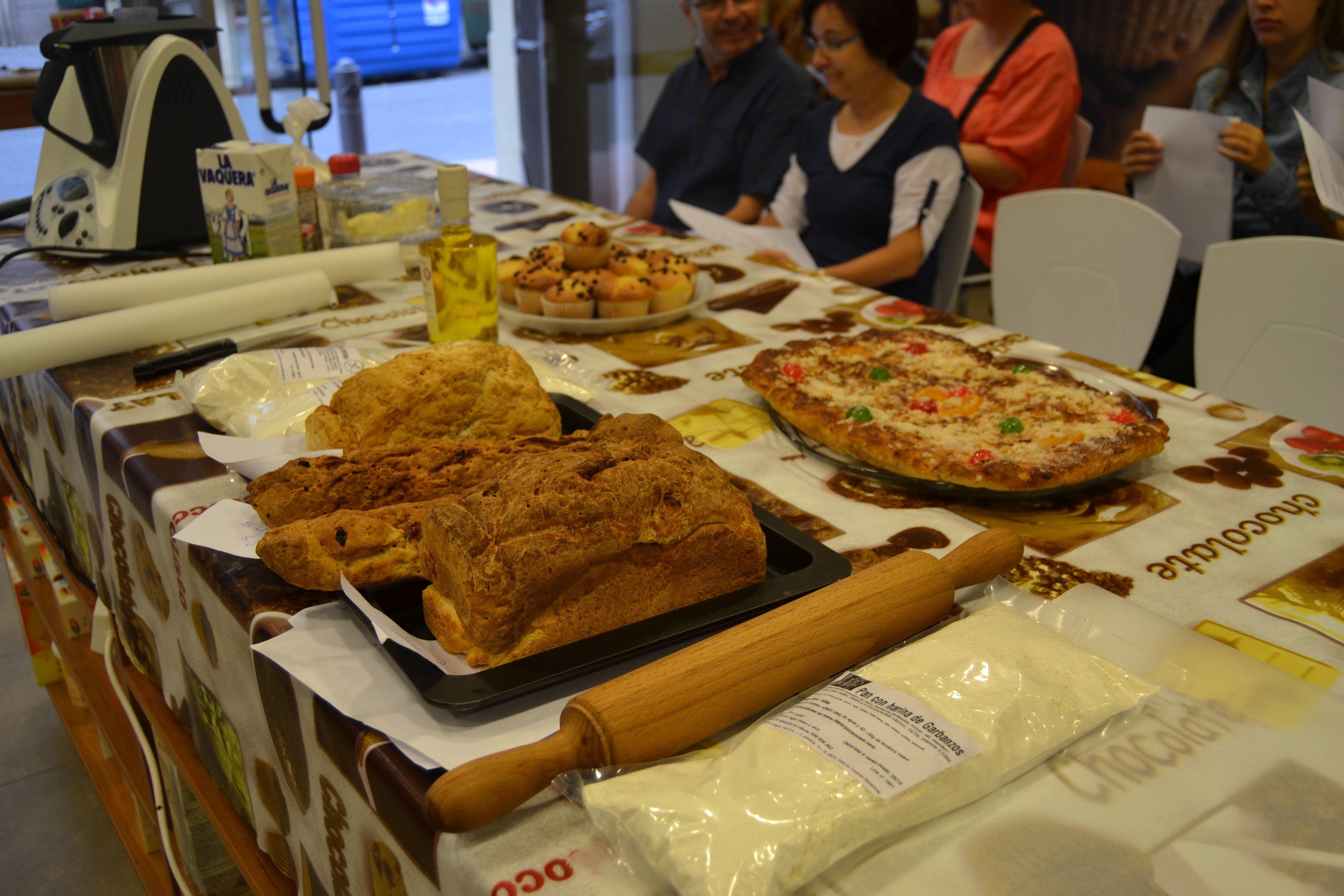 Diferents pans i coca Sense Gluten