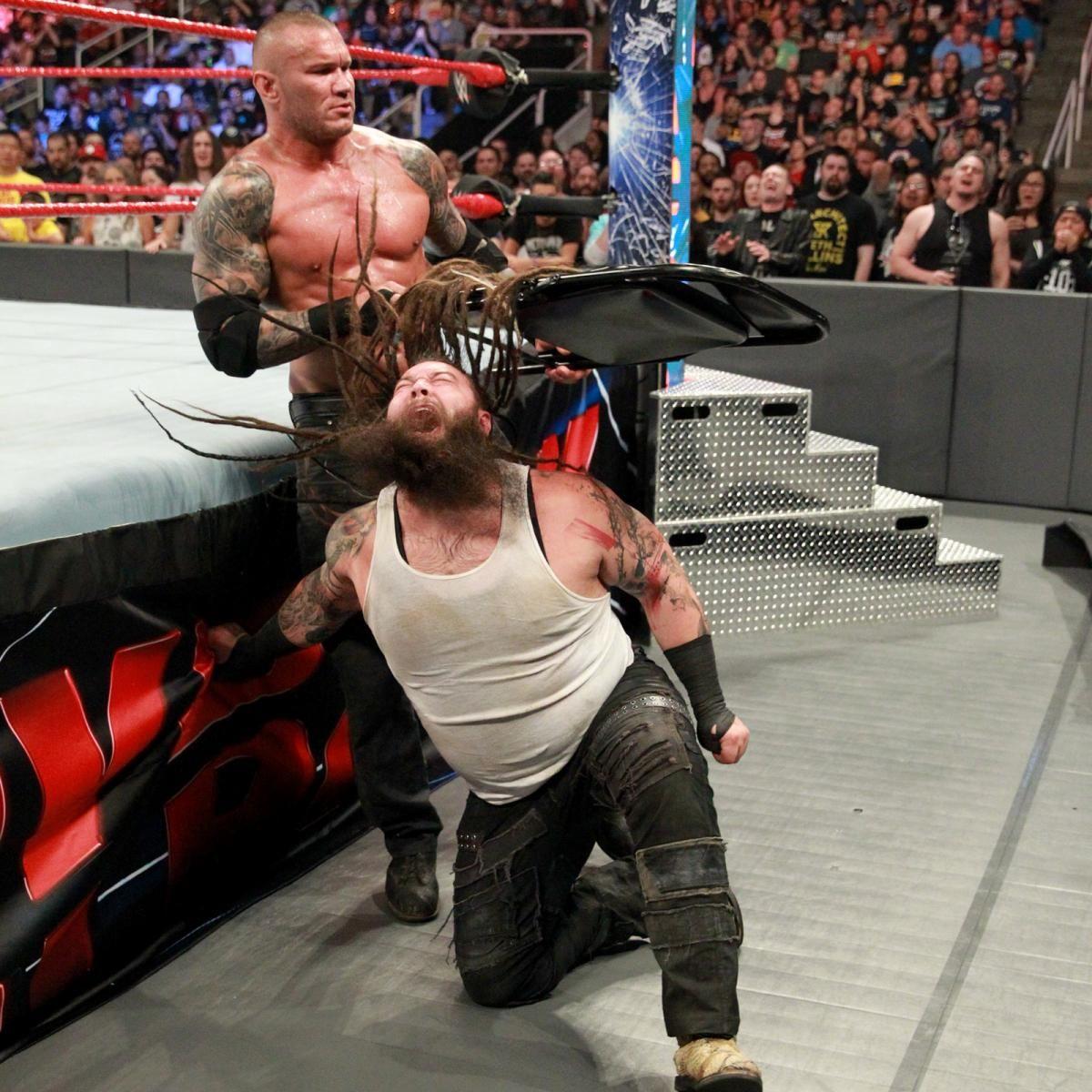 Photos Wyatt Takes Orton Inside His House Of Horrors Randy