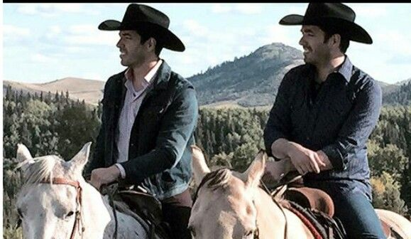 Drew & Jonathan..Home on the ranch...(clm)
