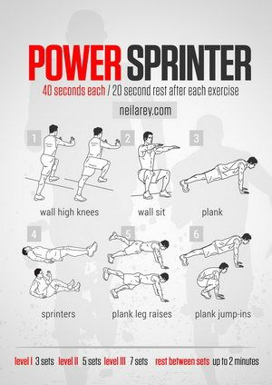 Power Sprinter Workout- lower body | Weekend Workout Challenge