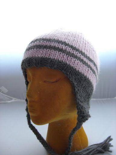 My Classic Ear Flap Hat | Ear flap hats, Loom knit hat ...