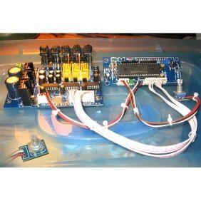 F9 6 Channel Preamplifier Volume Control PGA2311 Kit w/ Remote