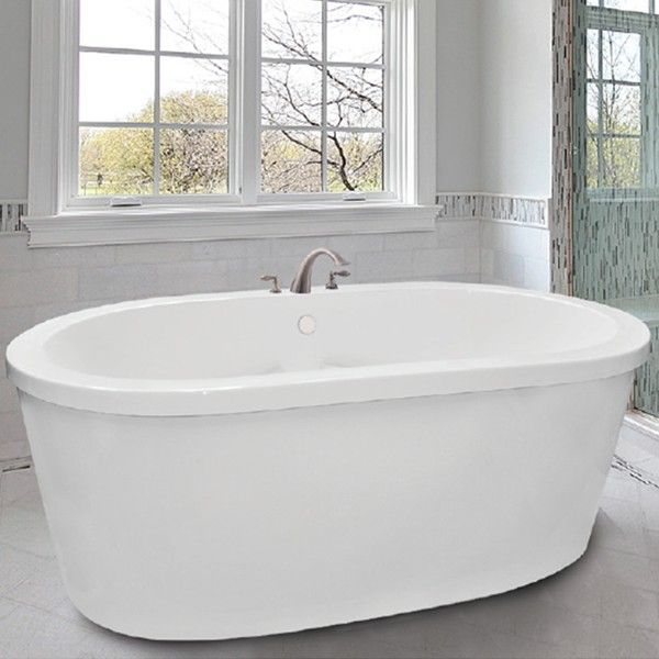 Jetted Tubs Rosabella Whirlpool Soaking Air Tub Hydro