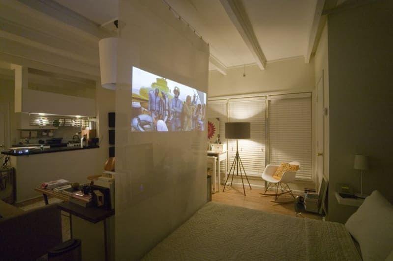 12 Ways To Create A Bedroom In Studio Apartment