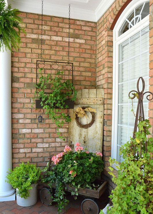 20 Inspiring Spring Porch Décor Ideas | Plants/Flowers/Gardening ...