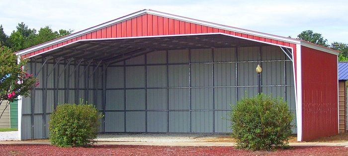50x36 Vertical Carport & Metal Building - Alan's Factory Outlet