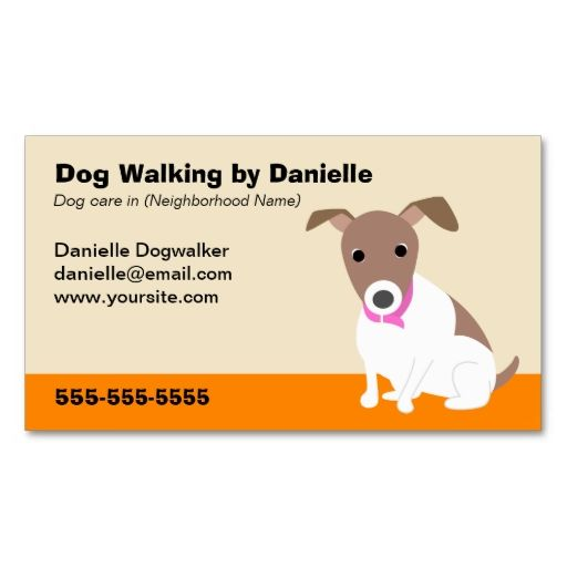 Dog Walking Business Business Card Zazzle Com Dog Walking Business Dog Cards Dog Walking Business Cards