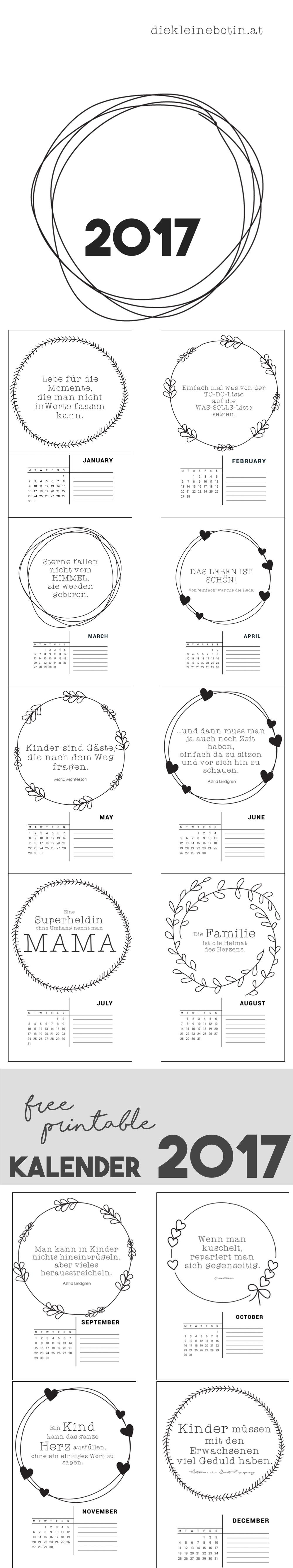 das informative mamablog lettering monatskalender. Black Bedroom Furniture Sets. Home Design Ideas