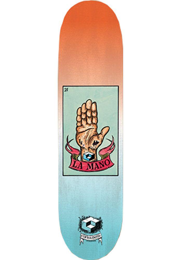 Consolidated La-Mano, Deck, multicolored Titus Titus Skateshop #Deck #Skateboard #titus #titusskateshop