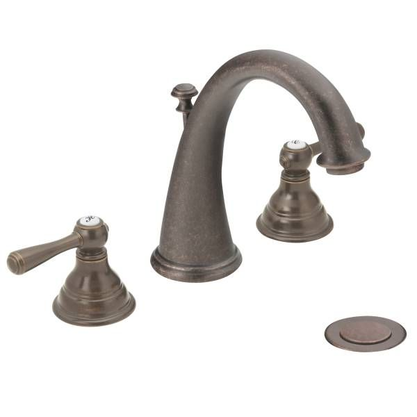 Powder Bath Faucet ooption 2 = Kingsley oil rubbed bronze two-handle ...