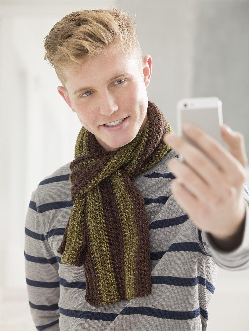 Mojave | Crochet Men | Pinterest | Bufandas para hombre y Para hombres