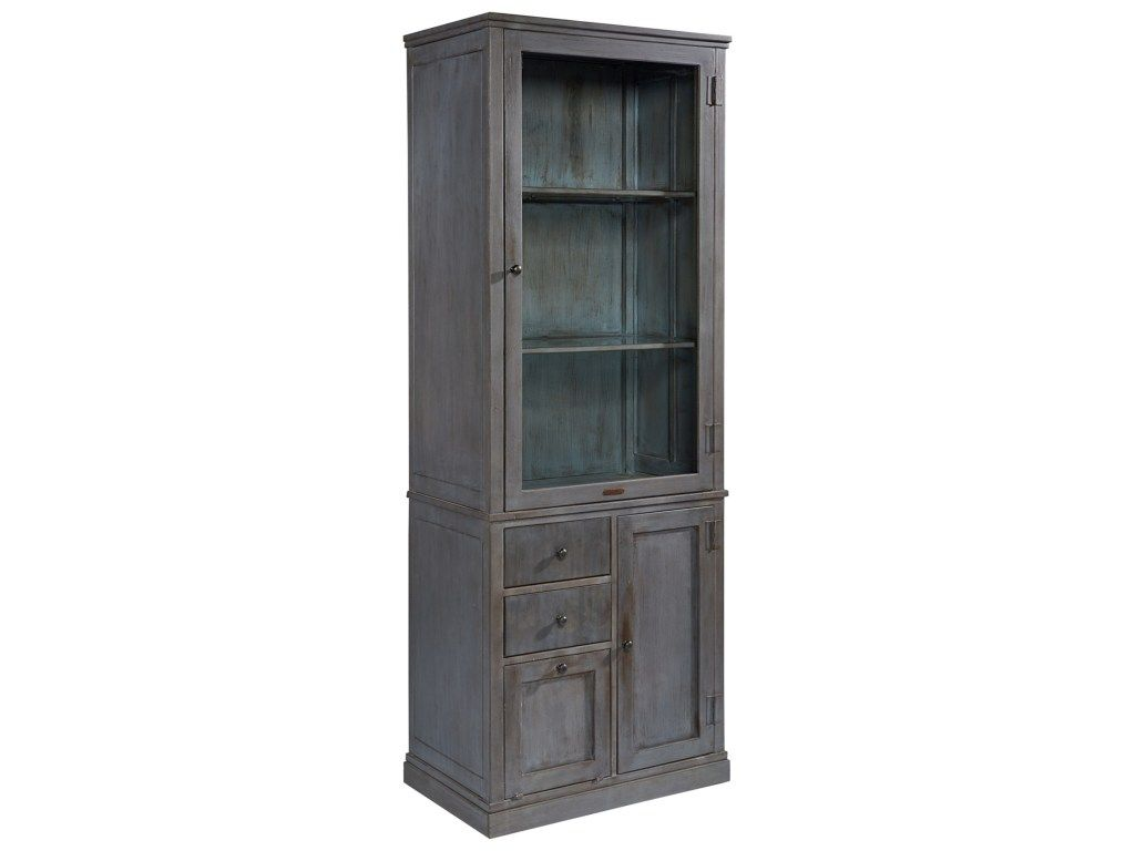 Magnolia Home By Joanna Gaines Accent Elements Metal Storage Cabinet With  Glass Door   Great American