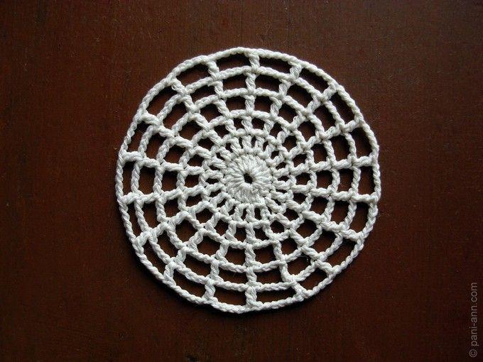 crochet round   Häkeln   Pinterest   Häkeln