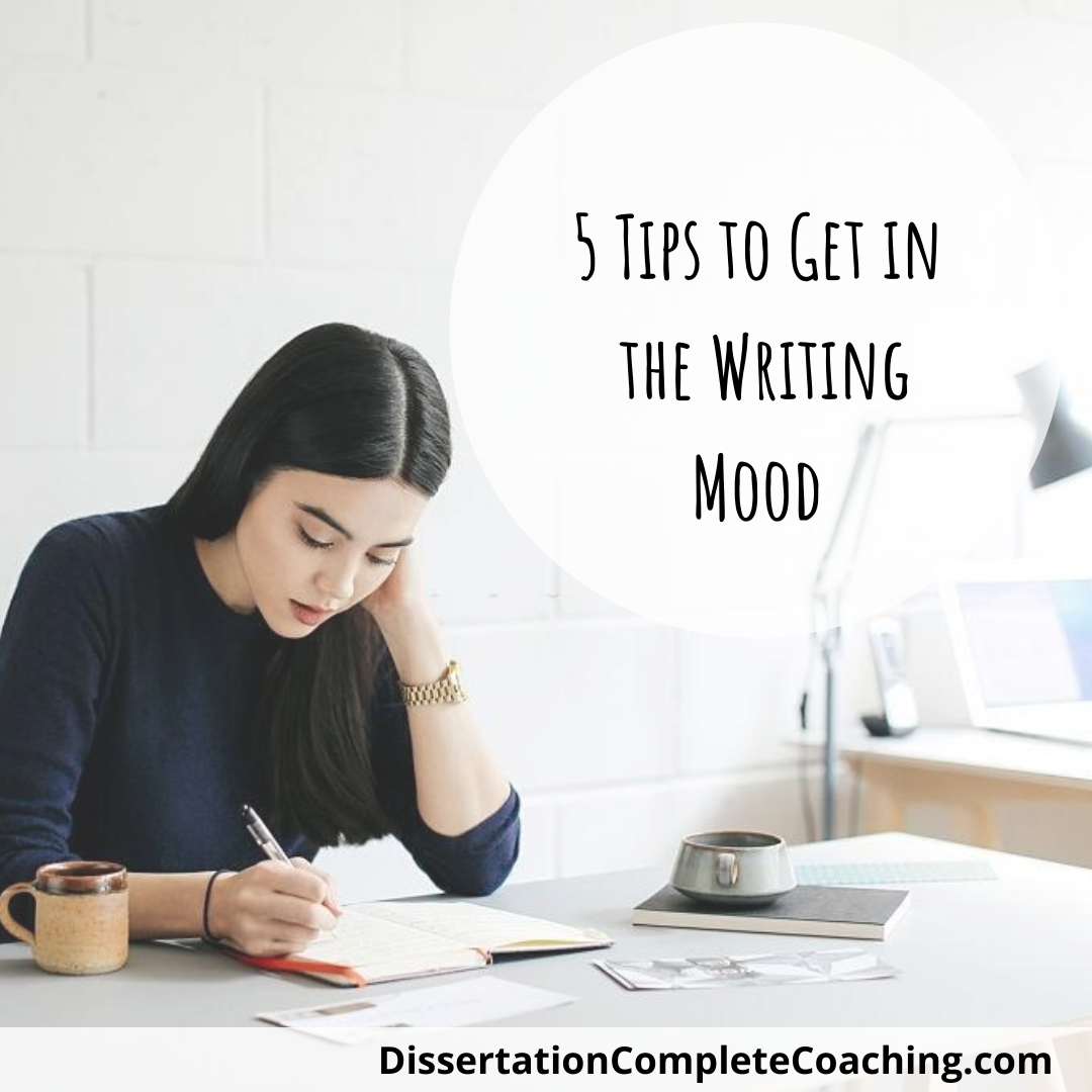 Getting Into The Writing State Of Mind Invoking Muse Dissertation Motivation Space How To Become A Coach