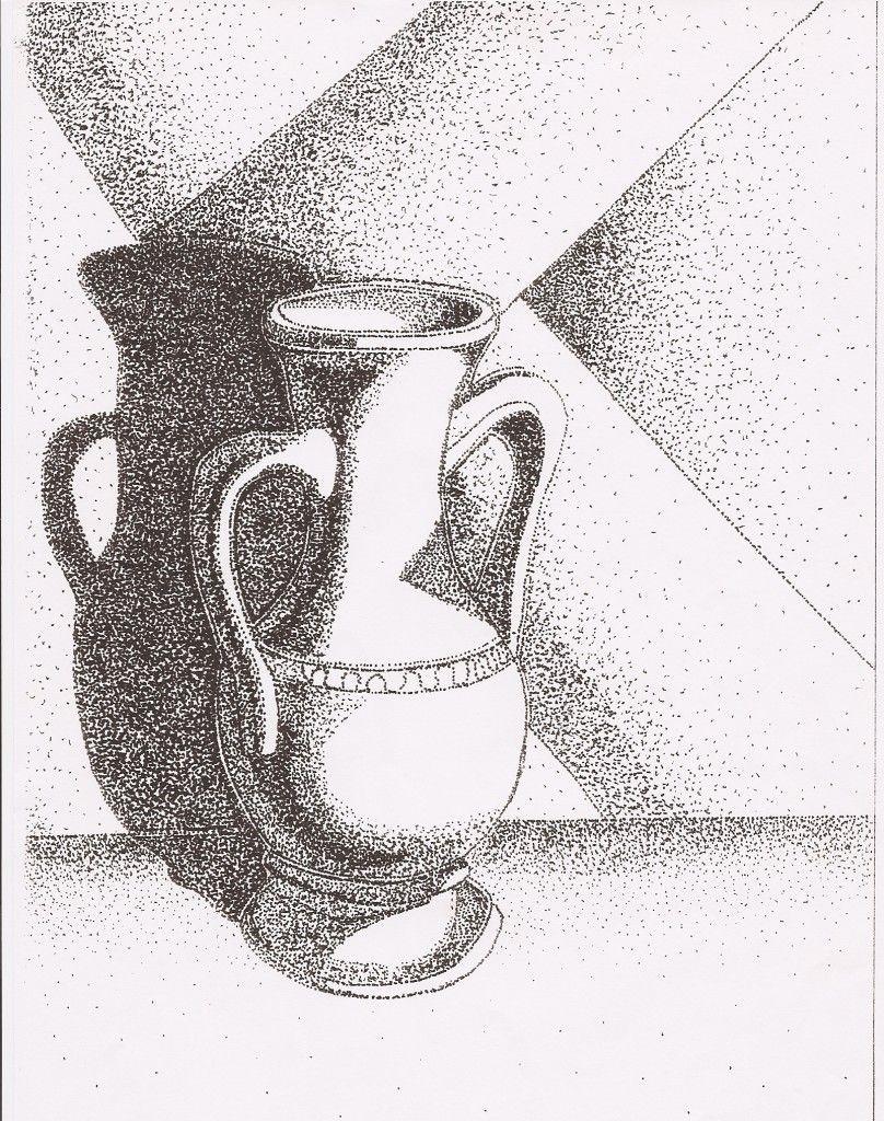 El Punto Blog De Epv Maria Arte Punteado Dibujos De Puntos Dibujos Con Puntillismo