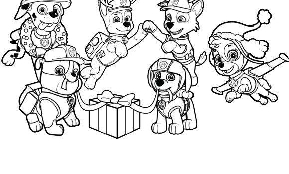 Dibujos De La Patrulla Canina Para Colorear Paw Patrol: Dibujos Para Colorear De La Patrulla Canina