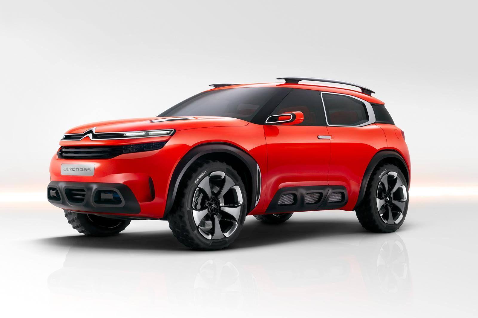 Citroen Aircross Concept Concept Cars Citroen Concept Compact Suv
