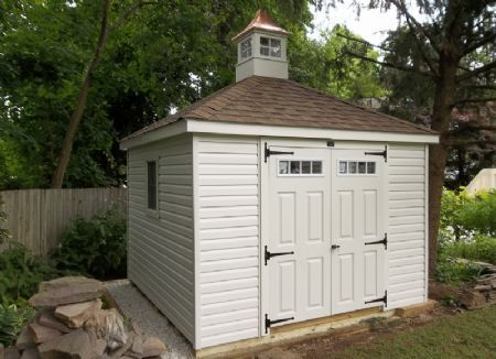 Stoltzfus Structures Hip Roof Shed With Cupola Stoltzfus Structures Shed Hip Roof