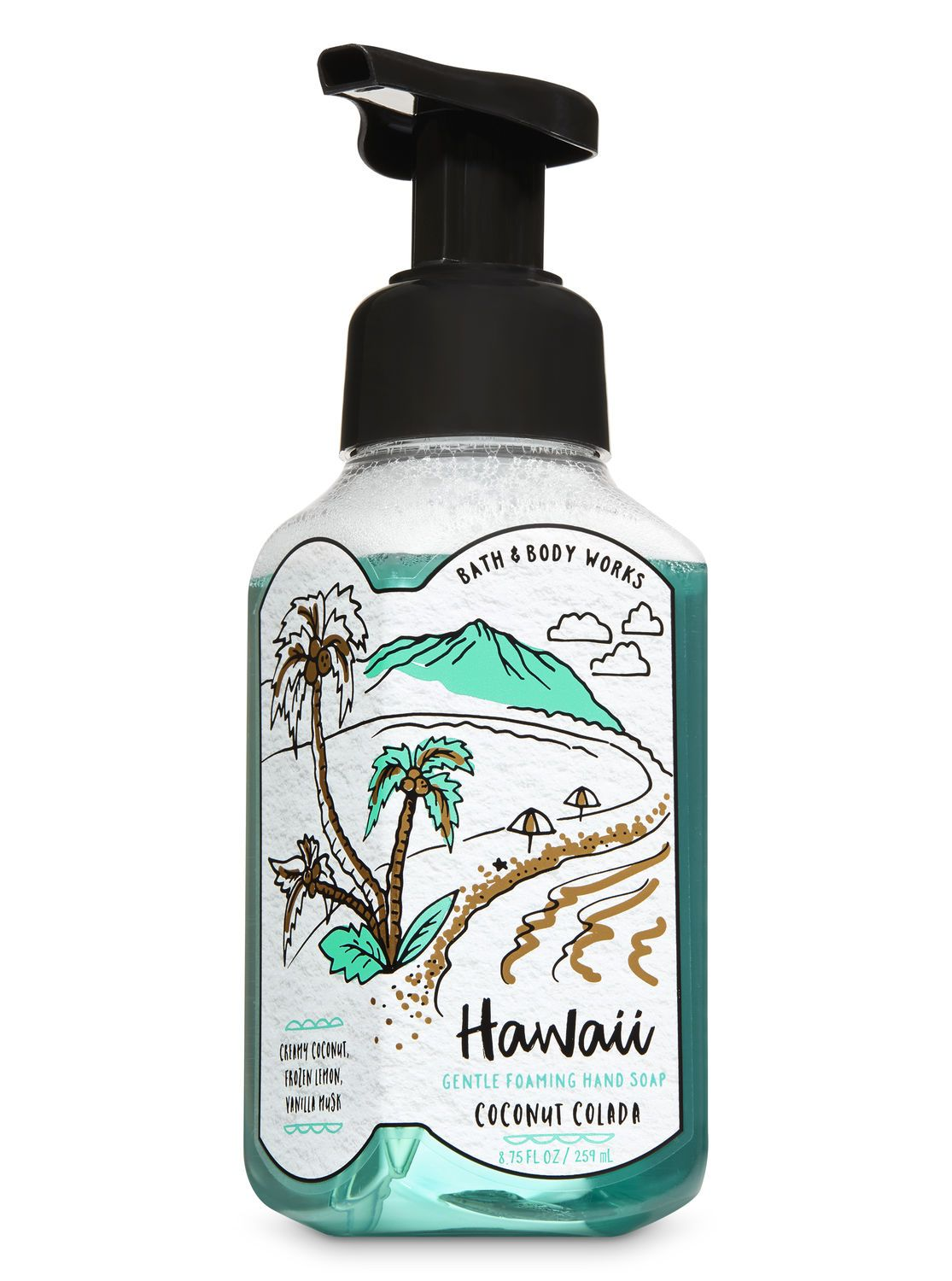 Coconut Colada Gentle Foaming Hand Soap By Bath Body Works Soap
