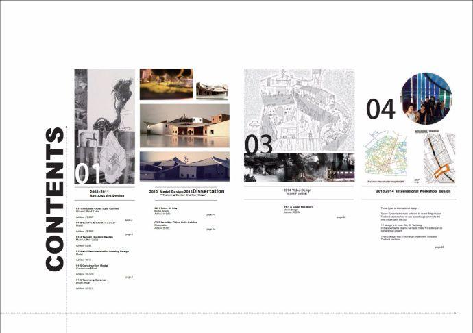 Pin by YCK on 排版-目录 | Architecture portfolio, Portfolio design