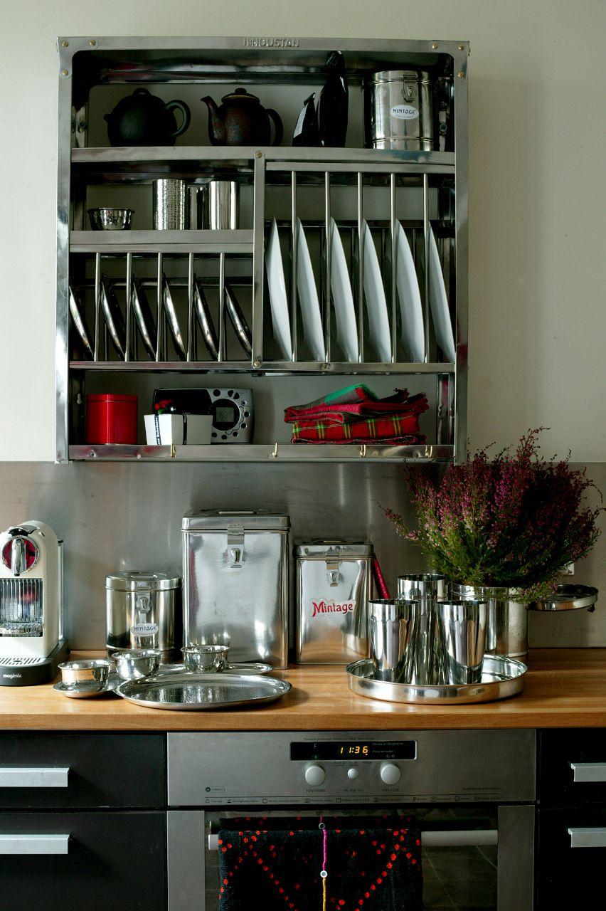 Inox  Accessoires cuisine, Cuisines design, Cuisines maison