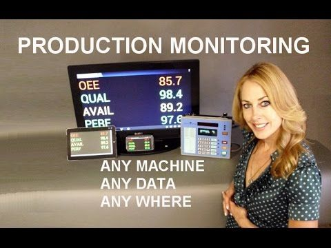 Production Monitoring and Reporting for All Types of Machines