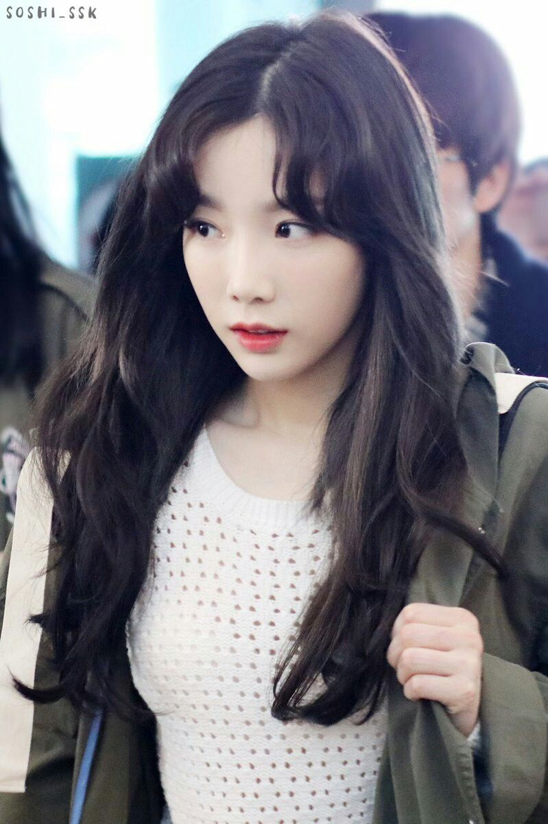Pin By Andrea Tea On Hair Hair Hair Taeyeon Amazing Women Girls Generation