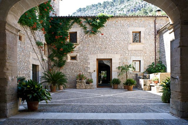 Relais & Chateaux - In this former hillside monastery in the north of Majorca, a sense of asceticism lives on if only in the décor. Son Brull SPAIN #relaischateaux #europa
