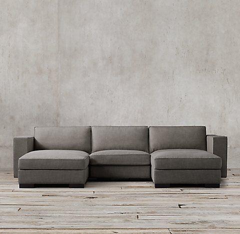 Maddox Modular Collection Rh Modular Sofa Chaise Sofa Modern
