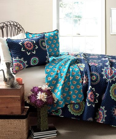 Just Purchased This From Zulily Navy Adrianne Quilt Set