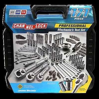 Channellock 39053 171 Piece Mechanic/'s Tool Set