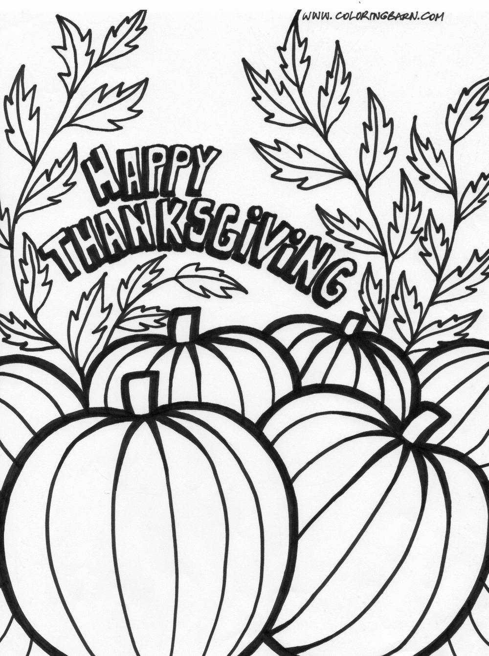 Thanksgiving pumpkin coloring pagecontinue reading artcolor my