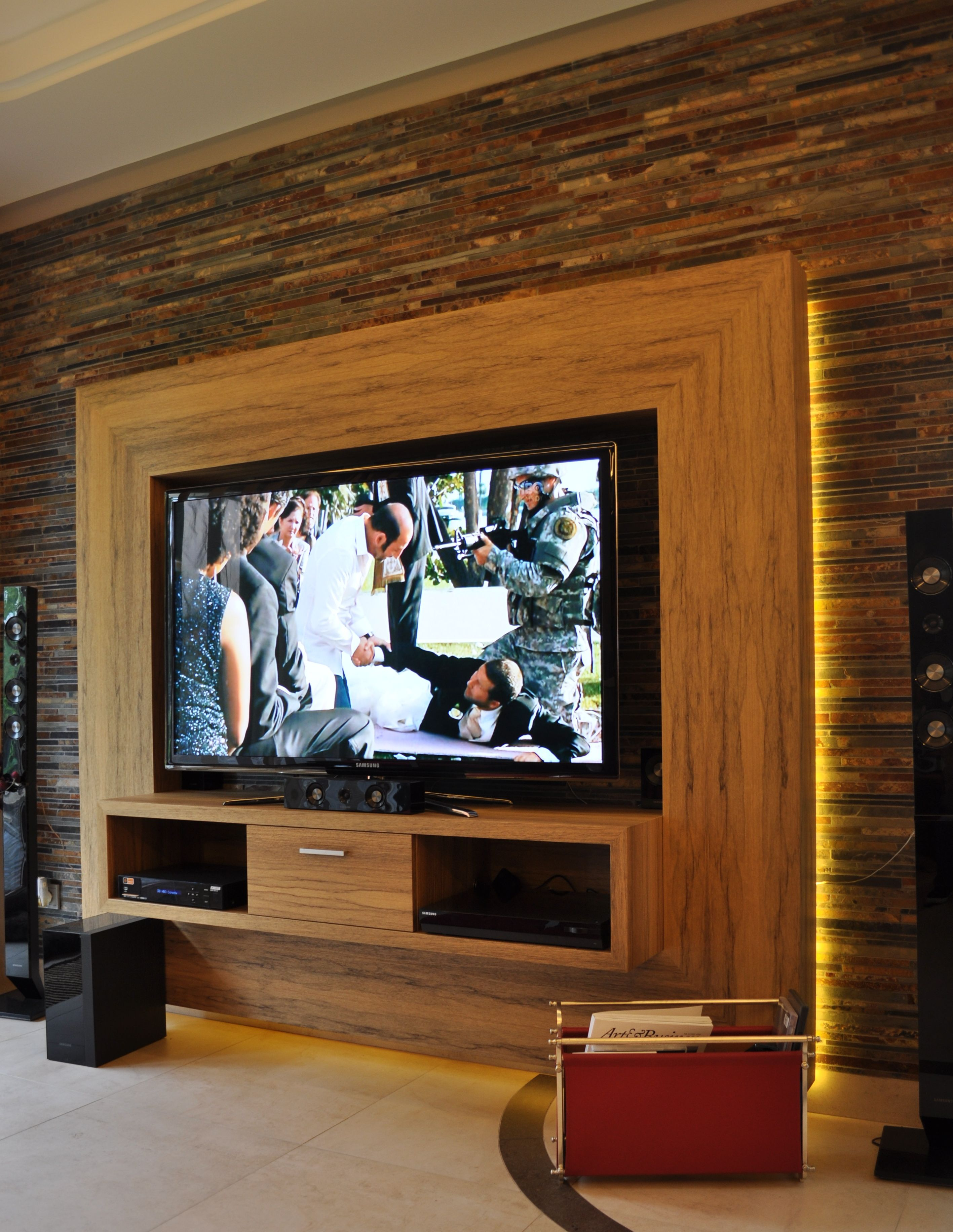 Ścianka Tv Zabudowa Rtv Ścianka Tv Home Cinema Room