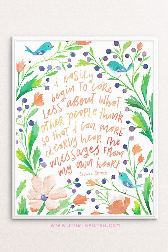 Inspirational Mantra Printable Quote Positive Affirmation Etsy Flower Wall Art Flower Quotes Affordable Wall Art