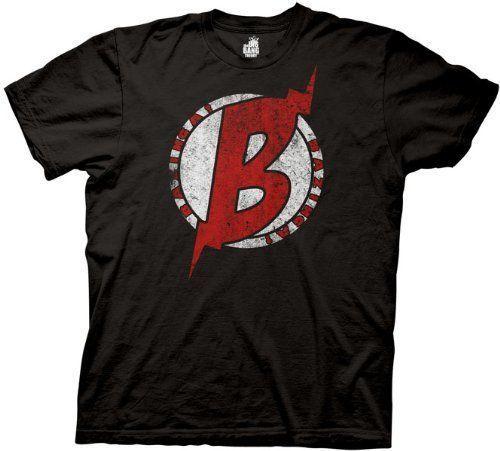The Big Bang Theory Distressed B Symbol T Shirt Big Bang Theory