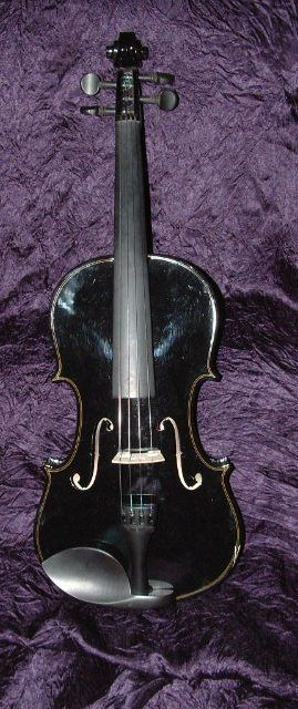 free gothic auctions black violin listed by mourningpalace for sale on. Black Bedroom Furniture Sets. Home Design Ideas