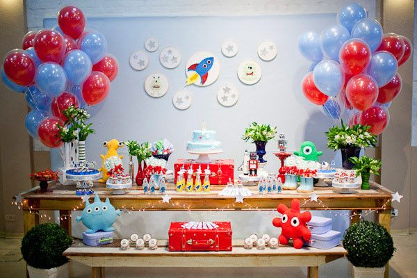 festa de aniversario criativa temas para festa de aniversario para menino balões de gás helio cientista blog vittamina